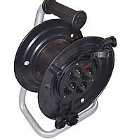 Катушка под 50м кабеля с розетками 4 шт 16А, IP43