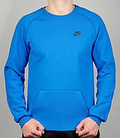 Спортивная кофта NIKE 21403 голубая