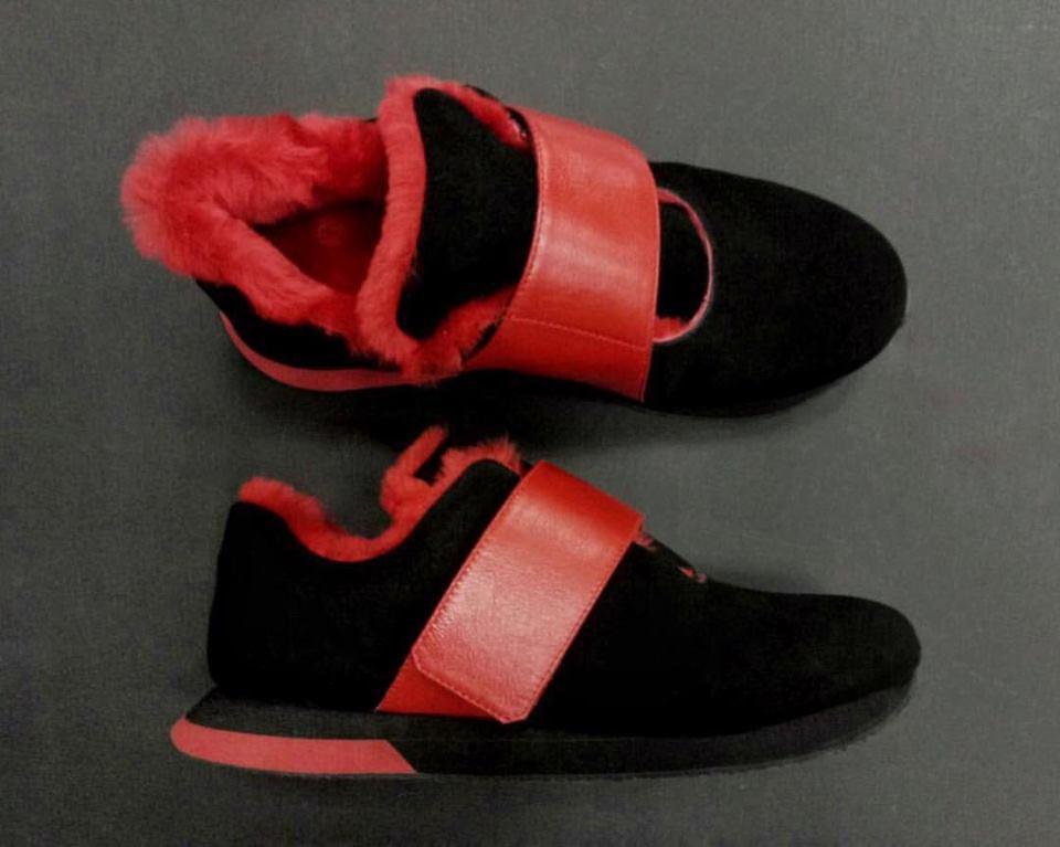 08d7d9e5 Зимние женские кроссовки с натуральным мехом ТМ Momot : продажа ...