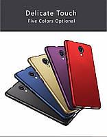 Чехлы для Meizu M5s Софт-тач пластик матовые