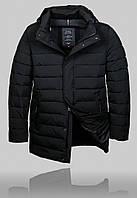 Куртка мужская зимняя BLACK VINYL 21336 черная