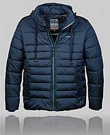 Куртка мужская зимняя BLACK VINYL 21337 темно-синяя