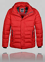 Куртка мужская зимняя BLACK VINYL 21345 красный
