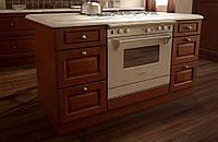 Кухонный фасад деревянной рамой и шпонированной филёнкой СММ ST