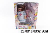 Кукла муз MS13002/1 (1515554)  батар, медсестра, с мед ин-тами