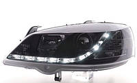 Opel Astra G фара водительская опель астра г tuning тюнинг линза черная  irmscher steinmetz ирмшер штайнмец, фото 1