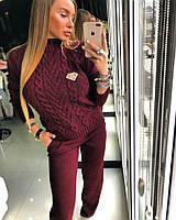 Костюм Doratti теплый двойная вязка свитер и брюки разные цвета Ddor263