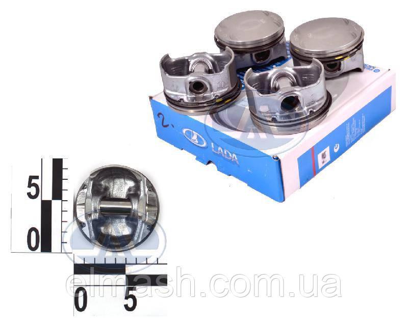 Поршень цилиндра ВАЗ 21011 79,0 (E) (поршень+палец) М/К (про-во АвтоВАЗ)