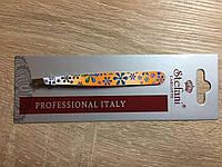 Пинцет для бровей цветной. Удаляет даже самые маленькие волоски! 1 шт/ Prof Italy /Stefani