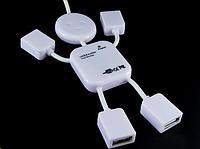 Разветвитель USB - HUB, на 4 порта, человечек