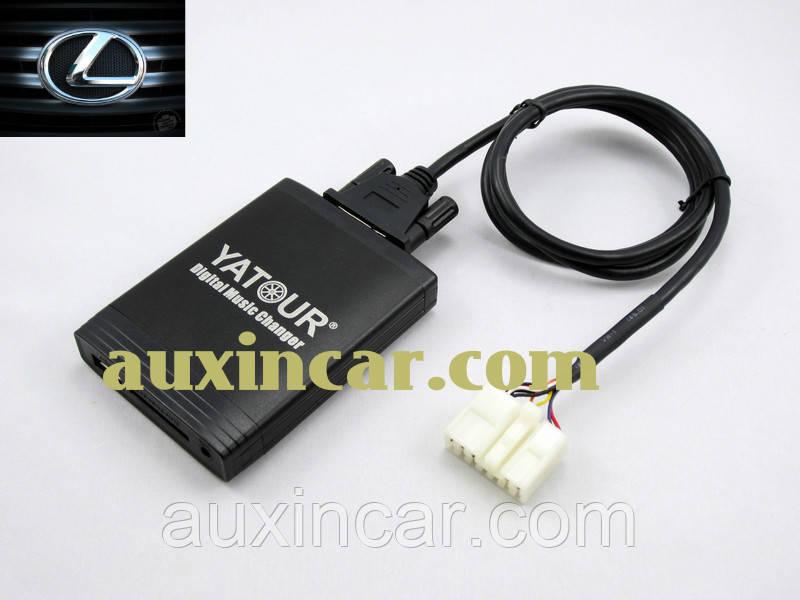 Флешка сд карта аукс ЯТУР Yatour TOY1 для магнитол Lexus 1998-2004
