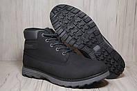 Зимние мужские ботинки натуральный нубук Restime