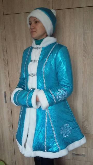 Новогодний костюм для взрослых Снегурочка, новогодние костюмы для взрослых оптом от производителя