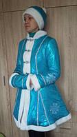 Новогодний костюм для взрослых Снегурочка, новогодние костюмы для взрослых оптом от производителя, фото 1