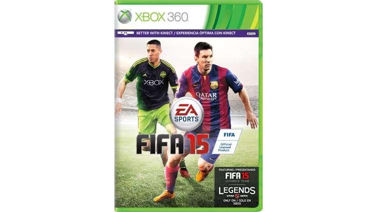 Игра xbox360 FIFA 15 Ultimate Team регион NTSC