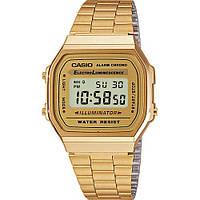 Мужские часы классика в цифре CASIO A168WG-9EF