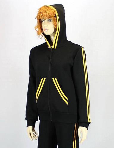 Теплый спортивный костюм с капюшоном