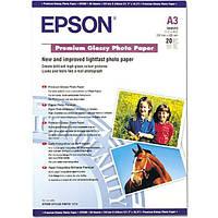 Фотобумага Epson A3 Photo Glossy Paper, глянц., 20л. 141 г/м2