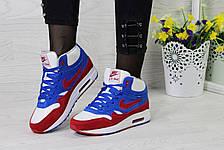 Высокие зимние кроссовки Nike Air Max 87,замшевые,на меху., фото 3