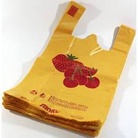 Пакет Клубника 30х50 (100шт/уп)