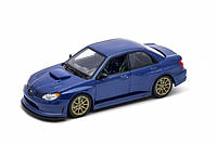 Машина Welly, Subaru Impreza, металлическая, масштаб 1:24, 22487W