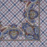Шотландский напев 1001-3, павлопосадский платок шерстяной  с оверлоком, фото 2