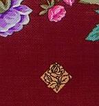 Цветомания 1439-7, павлопосадский платок шерстяной  с шелковой бахромой, фото 3