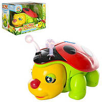 Музыкальная игрушка, жук, свет, ездит, M0383U/R
