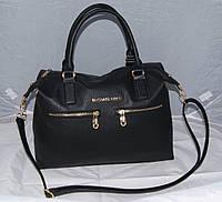 Черная женская сумка Mісhаеl Коrs, в стиле Майкл Корс, MK ( код: IBG046B ), фото 1