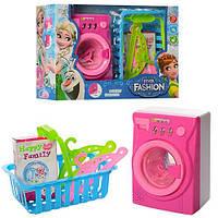 """Стиральная машина """"Frozen"""", 13,5см, свет, музыка, корзина, вешалки, DN6202FZ-D"""