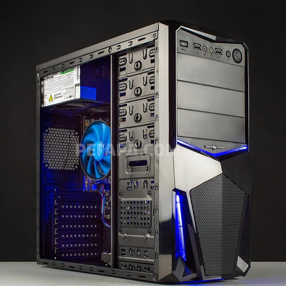 Системный блок РЕГАРД RE0001 (AMD A4-4000 3,0GHz/AMD Radeon HD7480D, 2GB/4GB DDR3/320GB HDD/БП 400W) - Системные блоки – интернет-магазин Регард: цены, отзывы, купить Системные блоки в Киеве и Украине в Киеве