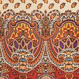 Маркиза 722-5, павлопосадский шарф шелковый крепдешиновый с подрубкой, фото 2