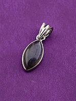 046543 Кулон Лабрадор натуральный 1 г.  украшение с лабрадором, натуральный камень