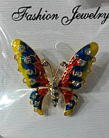 609 Броши бабочки оптом