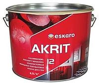 Краска  латексная ESKARO AKRIT 12 интерьерная белая-база А 9,5л