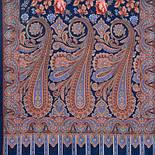 Розквітаючій камені 1442-64, павлопосадский шарф-палантин вовняної з шовковою бахромою, фото 2