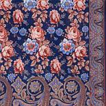 Розквітаючій камені 1442-64, павлопосадский шарф-палантин вовняної з шовковою бахромою, фото 3