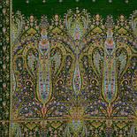 Русалка 1156-59, павлопосадский шарф-палантин шерстяной с шелковой бахромой, фото 2