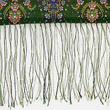 Русалка 1156-59, павлопосадский шарф-палантин шерстяной с шелковой бахромой, фото 4