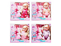 Кукла 42см, горшок, фен, бутылочка, подгузник, каша, соска, R317003-14-D16-E5-E7