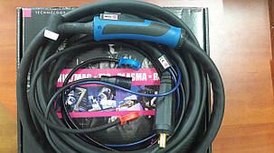 Сварочная горелка ABITIG® GRIP 18 (4 метровая) охлаждение жидкостью, управление подачи газа кнопкой, фото 2