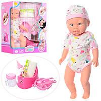 Функциональная кукла-пупс с аксессуарами 5085 Defa