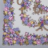 Рябиновые бусы 1193-2, павлопосадский платок шерстяной с шелковой бахромой, фото 2