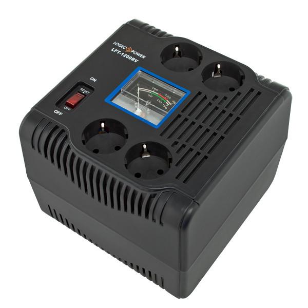 Стабилизатор напряжения релейный LogicPower LPT-1500RV