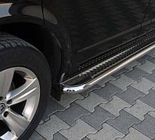 Алюминиевые подножки на Hyundai ix35 (2 шт) d51х1,6мм