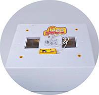 Автоматический инкубатор Теплуша 63 - 2 ИБА (Лампа)+(Влагомер)