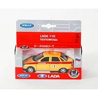 Модель машинки LADA 110 техпомощь (инерционная), ТМ Welly, 42385TA-W