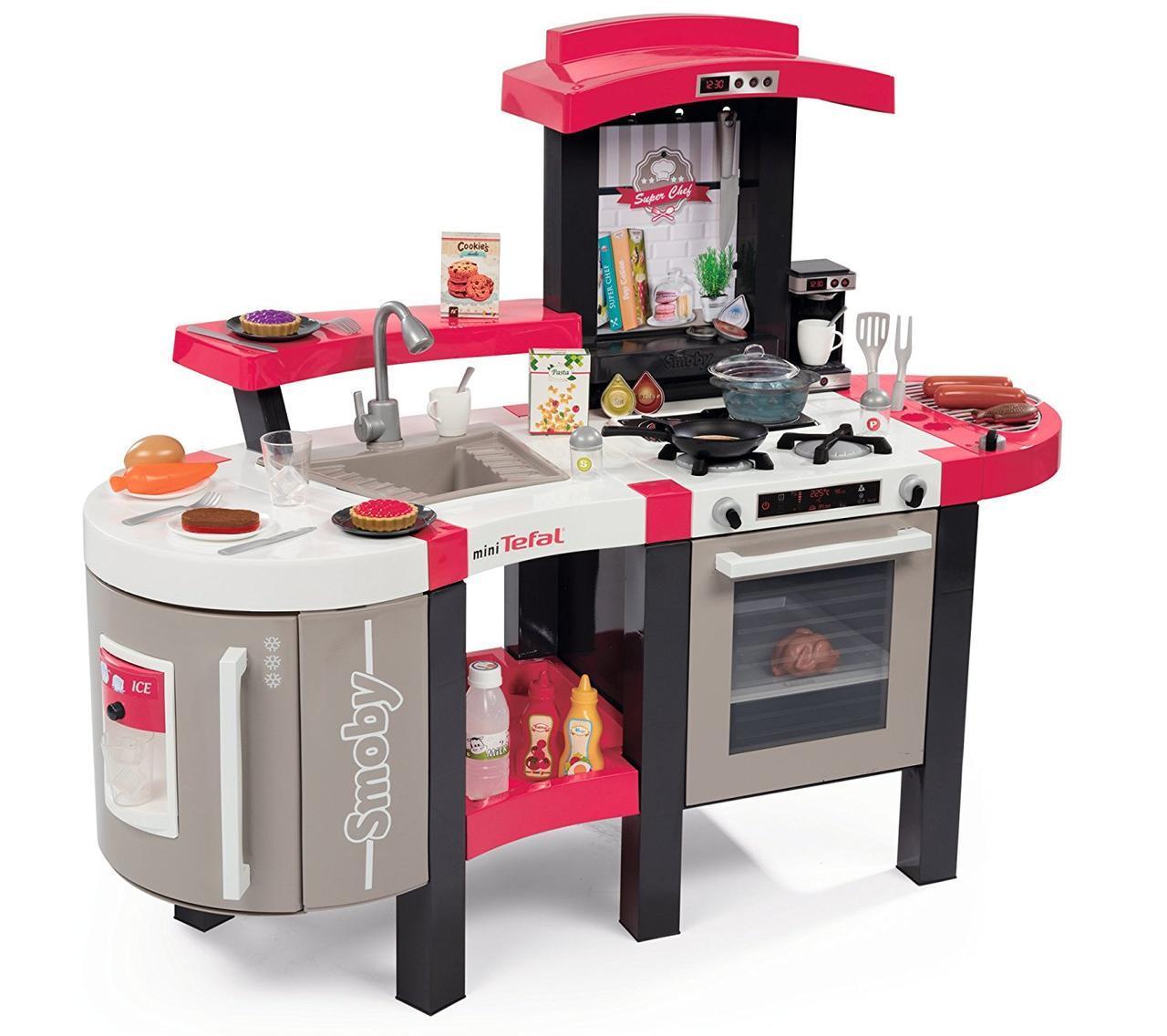 Кухня детская интерактивная Tefal Super Chef Deluxe Smoby 311304