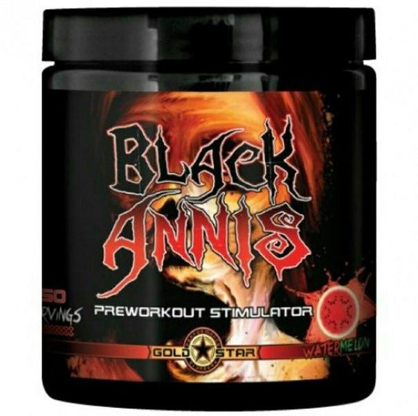 Предтрен Black Annis Gold Star 150g (25 порций) вкусы