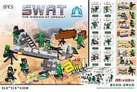 Конструктор S.W.A.T, 8 видов, QL0112